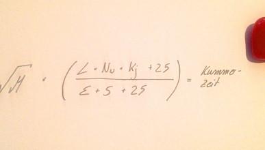 Liebeskummer Dauer Formel
