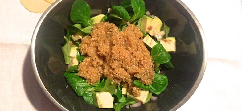 Liebeskummer Rezepte: Quinoa-Salat mit Avocado