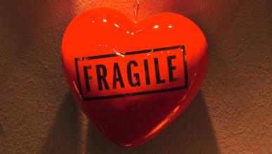 Trost Herz Fragile